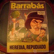 Coleccionismo deportivo: BARRABÁS LA REVISTA SATIRICA DEL DEPORTE. Lote 19977839