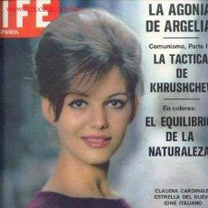 Coleccionismo deportivo: LIFE EN ESPAÑOL 1962.02=CLAUDIA CARDINALE,SOPHIA LOREN,ALAIN DELON,ANTHONY QUINN,A. EKBERG/ FANGIO. Lote 26734465