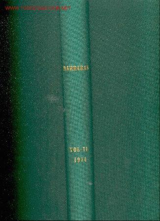 1974. 27 REVISTAS BARRABAS.REVISTA SATIRICA DEL DEPORTE (Coleccionismo Deportivo - Revistas y Periódicos - Barrabás)