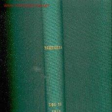 Coleccionismo deportivo: 1974. 27 REVISTAS BARRABAS.REVISTA SATIRICA DEL DEPORTE. Lote 26315142