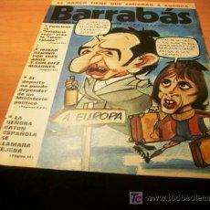 Coleccionismo deportivo: BARRABAS ( CON EL POSTER CENTRAL DE CHICA ) Nº 125 CRUYFF EN PORTADA. Lote 109548100