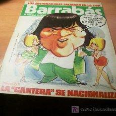 Coleccionismo deportivo: BARRABAS ( CON EL POSTER CENTRAL DE CHICA ) Nº 144. Lote 109548040