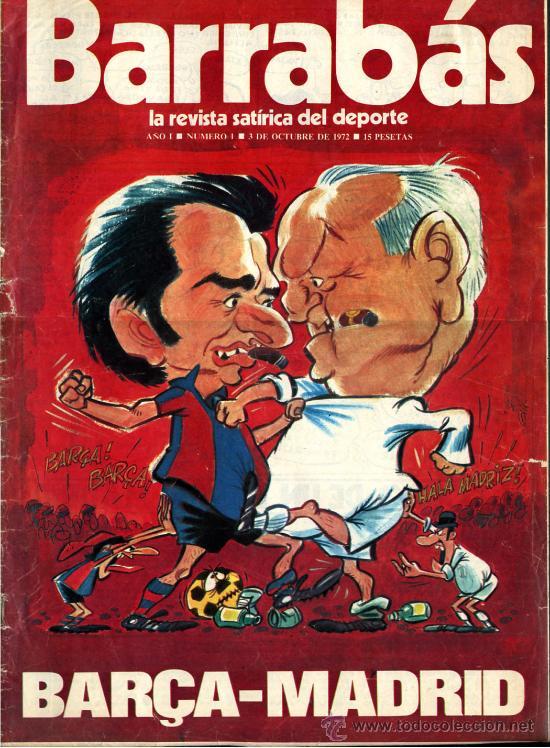 BARRABAS - LA REVISTA SATIRICA DEL DEPORTE - LOTE DEL Nº 1 AL 101 + 2 EXTRAS (103 EJ.) (Coleccionismo Deportivo - Revistas y Periódicos - Barrabás)