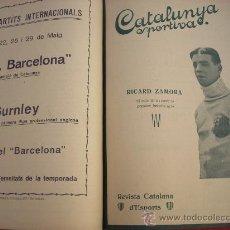 Collectionnisme sportif: CATALUNYA SPORTIVA - 50 REVISTES - 1921. Lote 12969507