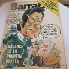 Coleccionismo deportivo: BARRABAS - AÑO IV - NUMERO 122 - 28 ENERO 1975. Lote 23624398