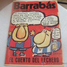 Coleccionismo deportivo: BARRABAS - AÑO I - NUMERO 9 - 28 NOVIEMBRE 1972. Lote 23505345