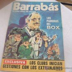 Coleccionismo deportivo: BARRABAS - AÑO I - NUMERO 12 - 19 DICIEMBRE 1972. Lote 23505346