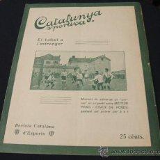 Coleccionismo deportivo: CATALUNYA SPORTIVA - AÑO VI - Nº 249 - 27 SEPTIEMBRE 1921. Lote 27166766