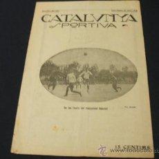 Coleccionismo deportivo: CATALUNYA SPORTIVA - AÑO IV - Nº 123 - 30 ABRIL 1919. Lote 22014548