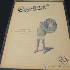 Coleccionismo deportivo: CATALUNYA SPORTIVA - AÑO V - Nº 195 - 7 SEPTIEMBRE 1920. Lote 26296551