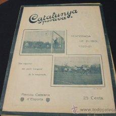 Coleccionismo deportivo: CATALUNYA SPORTIVA - AÑO V - Nº 200 - 12 OCTUBRE 1920. Lote 23084295