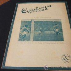 Coleccionismo deportivo: CATALUNYA SPORTIVA - AÑO V - Nº 170 - 16 MARZO 1920. Lote 27210257