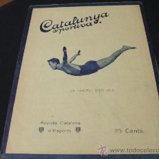 Coleccionismo deportivo: CATALUNYA SPORTIVA - AÑO V - Nº 201 - 19 OCTUBRE 1920. Lote 27092455