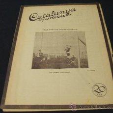Coleccionismo deportivo: CATALUNYA SPORTIVA - AÑO V - Nº 194 - 31 AGOSTO 1920. Lote 22257576