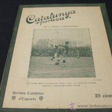Coleccionismo deportivo: CATALUNYA SPORTIVA - AÑO VI - Nº 228 - 3 MAYO 1921. Lote 25967425