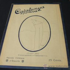 Coleccionismo deportivo: CATALUNYA SPORTIVA - AÑO V - Nº 210 - 28 DICIEMBRE 1920. Lote 24086463