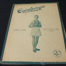 Coleccionismo deportivo: CATALUNYA SPORTIVA - AÑO V - Nº 193 - 24 AGOSTO 1920. Lote 27621640
