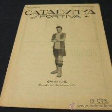 Coleccionismo deportivo: CATALUNYA SPORTIVA - AÑO V - Nº 160 - 8 ENERO 1920. Lote 27040296