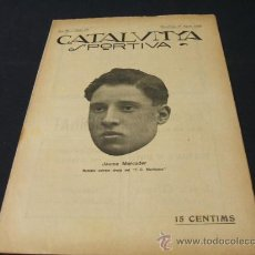 Coleccionismo deportivo: CATALUNYA SPORTIVA - AÑO IV - Nº 141 - 27 AGOSTO 1919. Lote 26454227