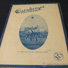 Coleccionismo deportivo: CATALUNYA SPORTIVA - AÑO V - Nº 181 - 2 JUNIO 1920. Lote 205289717