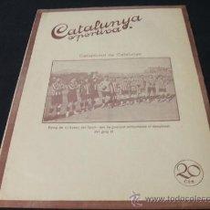 Coleccionismo deportivo: CATALUNYA SPORTIVA - AÑO V - Nº 169 - 9 MARZO 1920. Lote 24086465