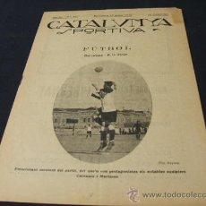 Coleccionismo deportivo: CATALUNYA SPORTIVA - AÑO IV - Nº 111 - 15 ENERO 1919. Lote 26454228