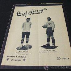 Coleccionismo deportivo: CATALUNYA SPORTIVA - AÑO VI - Nº 240 - 27 JULIO 1921. Lote 26454229