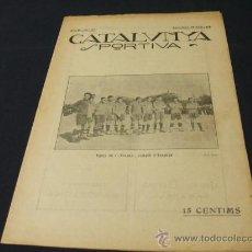 Coleccionismo deportivo: CATALUNYA SPORTIVA - AÑO IV - Nº 127 - 28 MAYO 1919. Lote 26641184