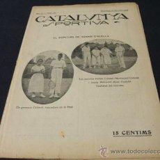 Coleccionismo deportivo: CATALUNYA SPORTIVA - AÑO IV - Nº 145 - 24 SEPTIEMBRE 1919. Lote 26928412