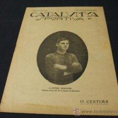 Coleccionismo deportivo: CATALUNYA SPORTIVA - AÑO IV - Nº 115 - 12 FEBRERO 1919. Lote 26413781