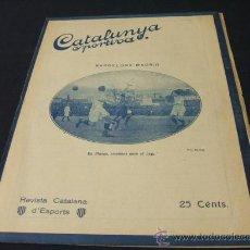 Coleccionismo deportivo: CATALUNYA SPORTIVA - AÑO VI - Nº 213 - 18 ENERO 1921. Lote 24086467