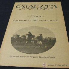 Coleccionismo deportivo: CATALUNYA SPORTIVA - AÑO IV - Nº 113 - 29 ENERO 1919. Lote 26641188