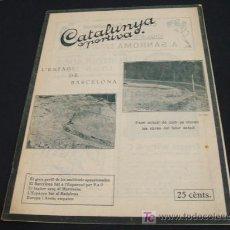Coleccionismo deportivo: CATALUNYA SPORTIVA - ANY VI - NUM. 257 - 22 NOVEMBRE 1921. Lote 26177652