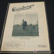 Coleccionismo deportivo: CATALUNYA SPORTIVA - ANY VI - NUM. 255 - 8 NOVEMBRE 1921. Lote 26928415