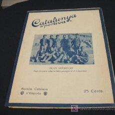 Coleccionismo deportivo: CATALUNYA SPORTIVA - ANY V - NUM. 207 - 30 NOVEMBRE 1920. Lote 26676273