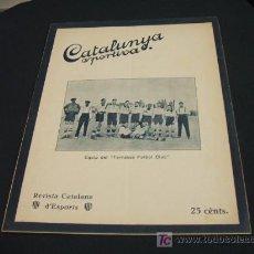 Coleccionismo deportivo: CATALUNYA SPORTIVA - ANY VI - NUM. 243 - 17 AGOST 1921. Lote 27389701