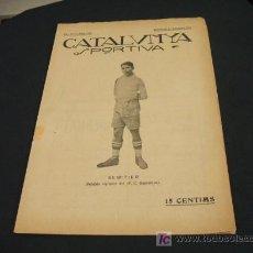 Coleccionismo deportivo: CATALUNYA SPORTIVA - ANY IV - NUM. 143 - 11 SETEMBRE 1919. Lote 24585736