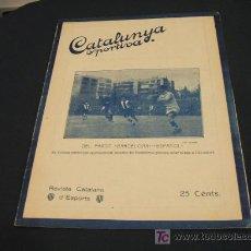 Coleccionismo deportivo: CATALUNYA SPORTIVA - ANY V - NUM. 209 - 21 DESEMBRE 1920. Lote 26583576
