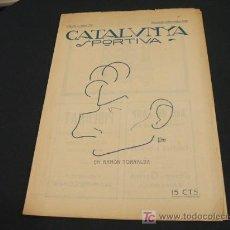 Coleccionismo deportivo: CATALUNYA SPORTIVA - ANY IV - NUM. 152 - 12 NOVEMBRE 1919. Lote 27287535