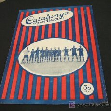 Coleccionismo deportivo: CATALUNYA SPORTIVA - ANY V - NUM. 177 - 4 MAIG 1920. Lote 25898540