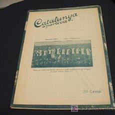 Coleccionismo deportivo: CATALUNYA SPORTIVA - ANY V - NUM. 197 - 21 SETEMBRE 1920. Lote 24819841