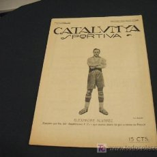 Coleccionismo deportivo: CATALUNYA SPORTIVA - ANY V - NUM. 161 - 14 GENER 1920. Lote 24617184