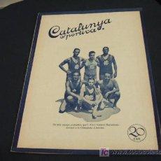 Coleccionismo deportivo: CATALUNYA SPORTIVA - ANY V - NUM. 167 - 25 FEBRER 1920. Lote 25476347