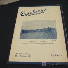 Coleccionismo deportivo: CATALUNYA SPORTIVA - ANY V - NUM. 205 - 16 NOVEMBRE 1920. Lote 27256433