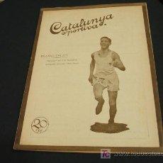 Coleccionismo deportivo: CATALUNYA SPORTIVA - ANY V - NUM. 166 - 18 FEBRER 1920. Lote 26543345