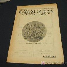 Coleccionismo deportivo: CATALUNYA SPORTIVA - ANY IV - NUM. 131 - 26 JUNY 1919. Lote 24199528