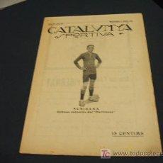 Coleccionismo deportivo: CATALUNYA SPORTIVA - ANY IV - NUM. 118 - 5 MARÇ 1919. Lote 24778089