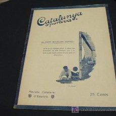 Coleccionismo deportivo: CATALUNYA SPORTIVA - ANY V - NUM. 203 - 3 NOVEMBRE 1920. Lote 26676272