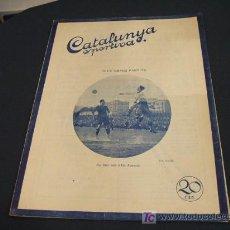 Coleccionismo deportivo: CATALUNYA SPORTIVA - ANY V - NUMERO 184 - 22 JUNY 1920 - . Lote 26583577