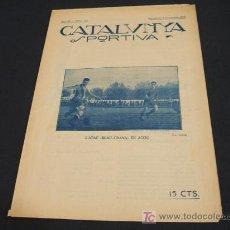 Coleccionismo deportivo: CATALUNYA SPORTIVA - ANY IV - NUMERO 151 - 7 NOVEMBRE 1919 . Lote 26656674